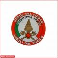 Adesivo Tricolore per auto privata Vigili del Fuoco