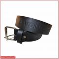Cintura in pelle con scritta Vigili del Fuoco