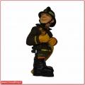 Pompiere Statuetta
