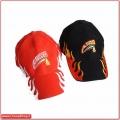 Cappellino Americano con fiamme laterali