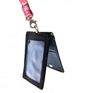 Porta badge doppio