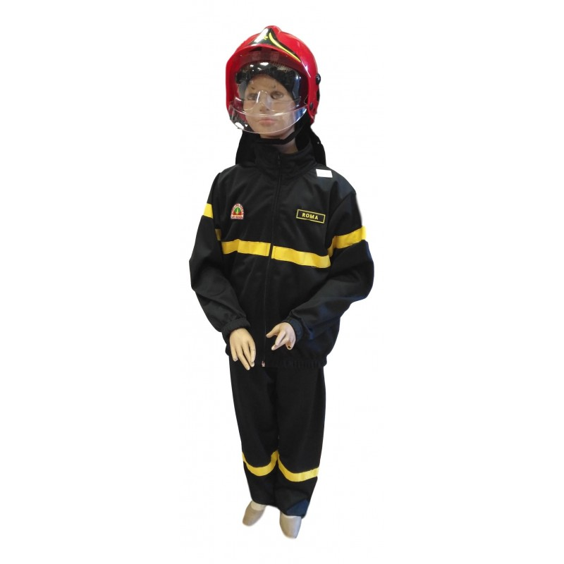 Divisa pompiere bambino