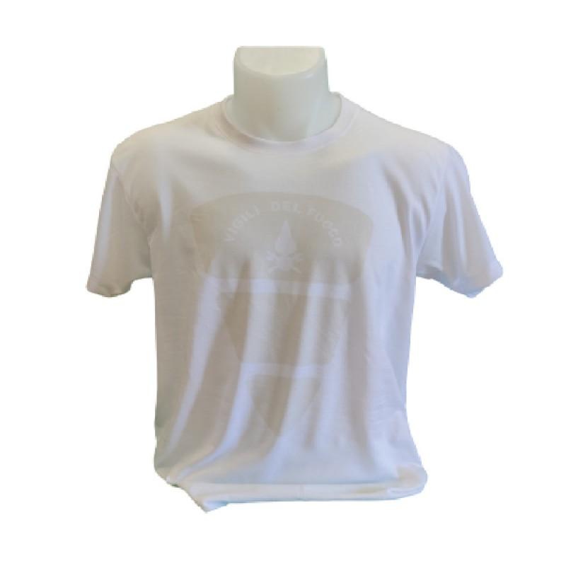 T-Shirt di colore grigio Vvf