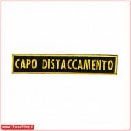 CAPO DISTACCAMENTO